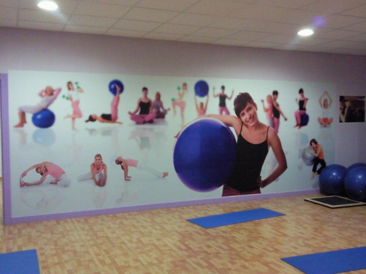 Artedecora blog de dise o gr fico - Decoracion gimnasio ...